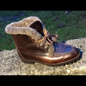 NEW Cole Haan Shearling Booties